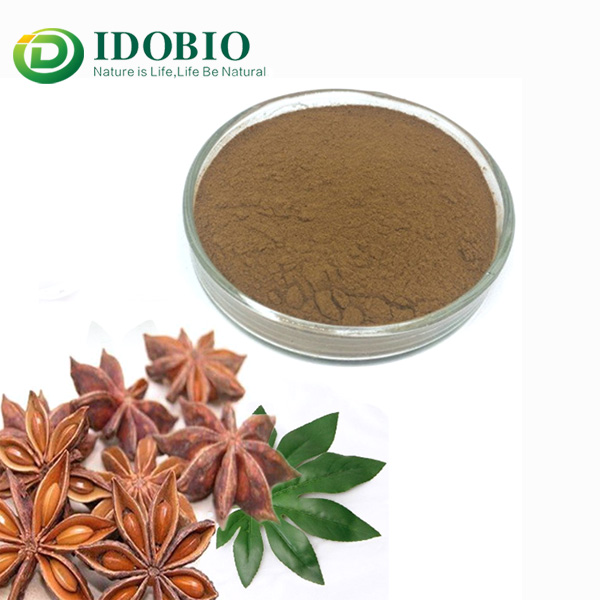 Pure 98% Shikimic Acid, Star Anise Fruit Extract
